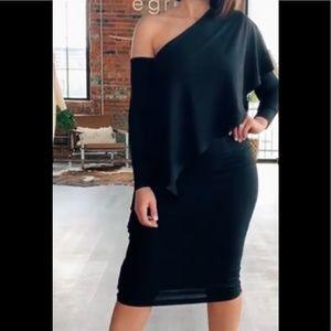 Byegreis Estelle dress in black.